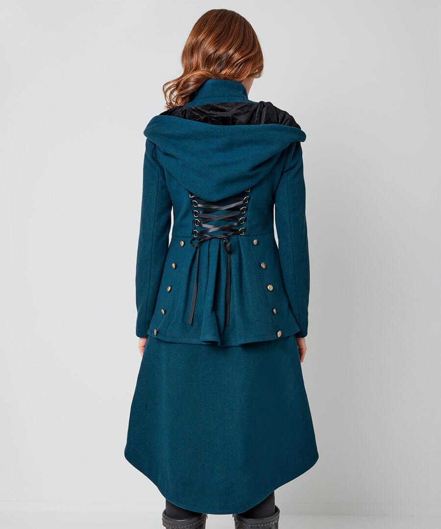 Wonderful Winter Coat Model Back