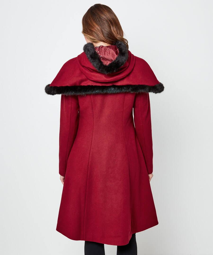 Beautiful Belle Coat Model Back
