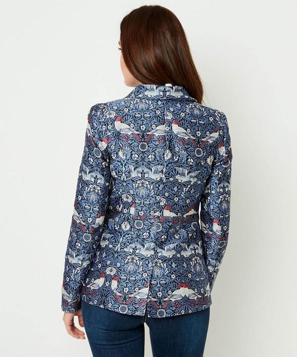 Elegant Jacquard Jacket