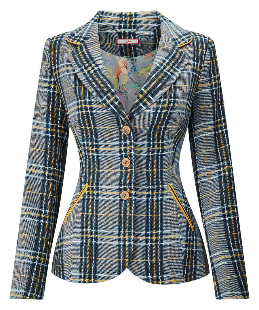 Quirky Check Jacket