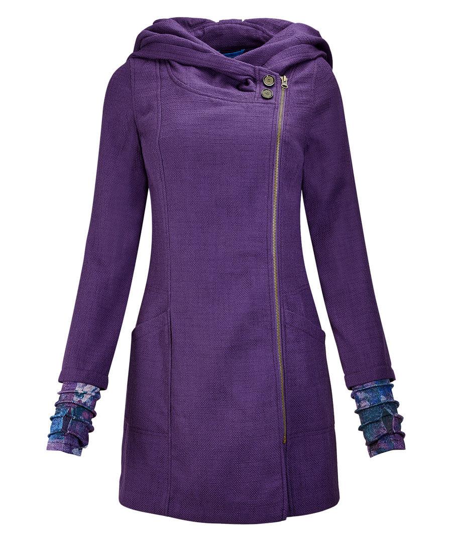 Quirky Purple Coat