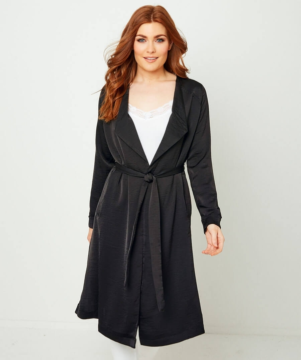 1930s Style Clothing and Fashion Capsule Collection Lightweight Duster Coat $60.00 AT vintagedancer.com