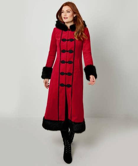 Devilish Red Coat