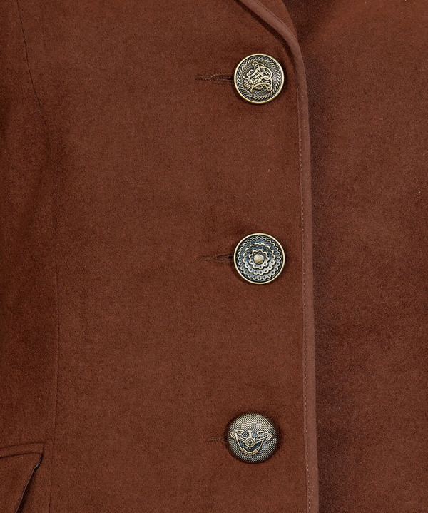 Charming Chocolate Jacket