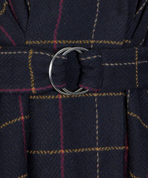 Unique Belted Coat