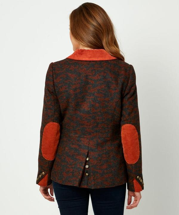 Animal Jacquard Jacket