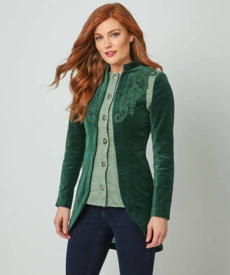 Summer Velvet Jacket