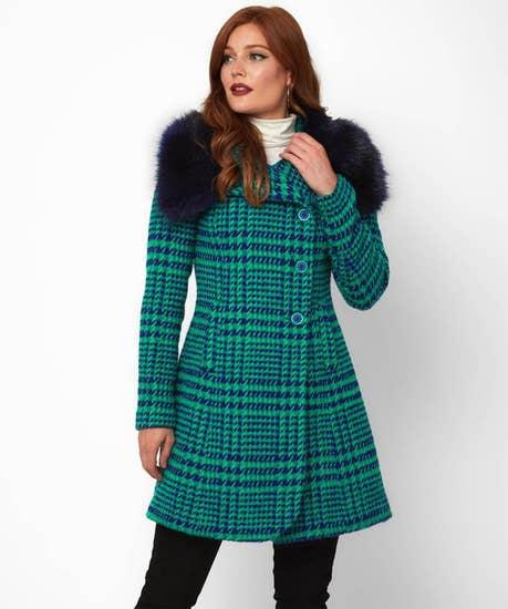 Daringly Distinctive Coat
