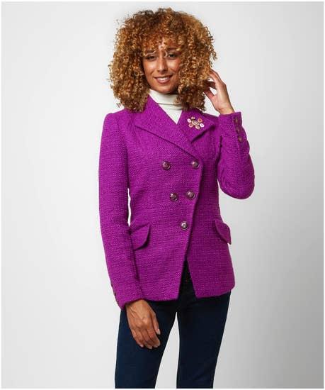 Purple Reflection Jacket
