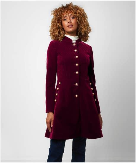 Virtuous Velvet Coat