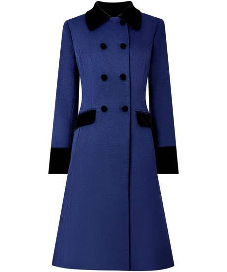 1940s Coats & Jackets Fashion History Elegant Vintage Coat $139.00 AT vintagedancer.com