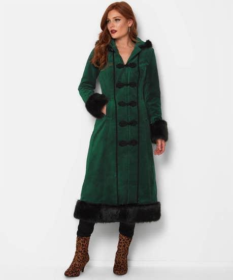 The Cosy Christmas Coat