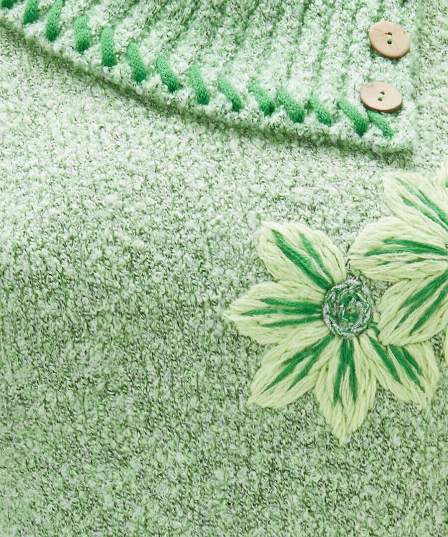 Green Green Grass Jumper Back