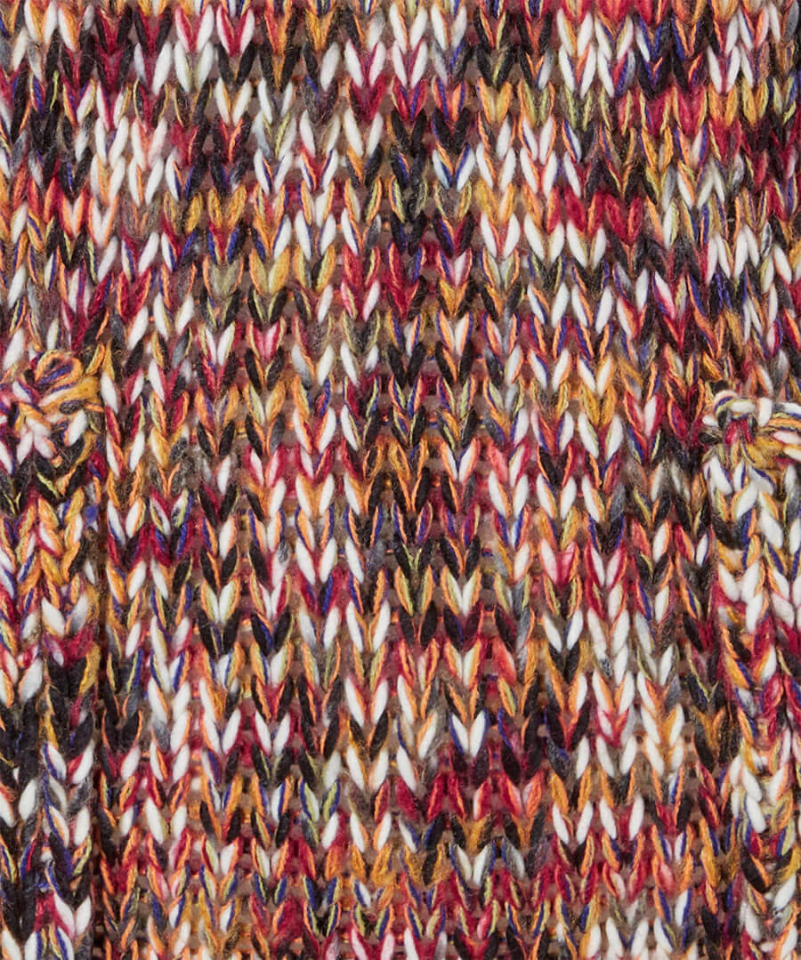 Autumn Rainbow Jumper Back