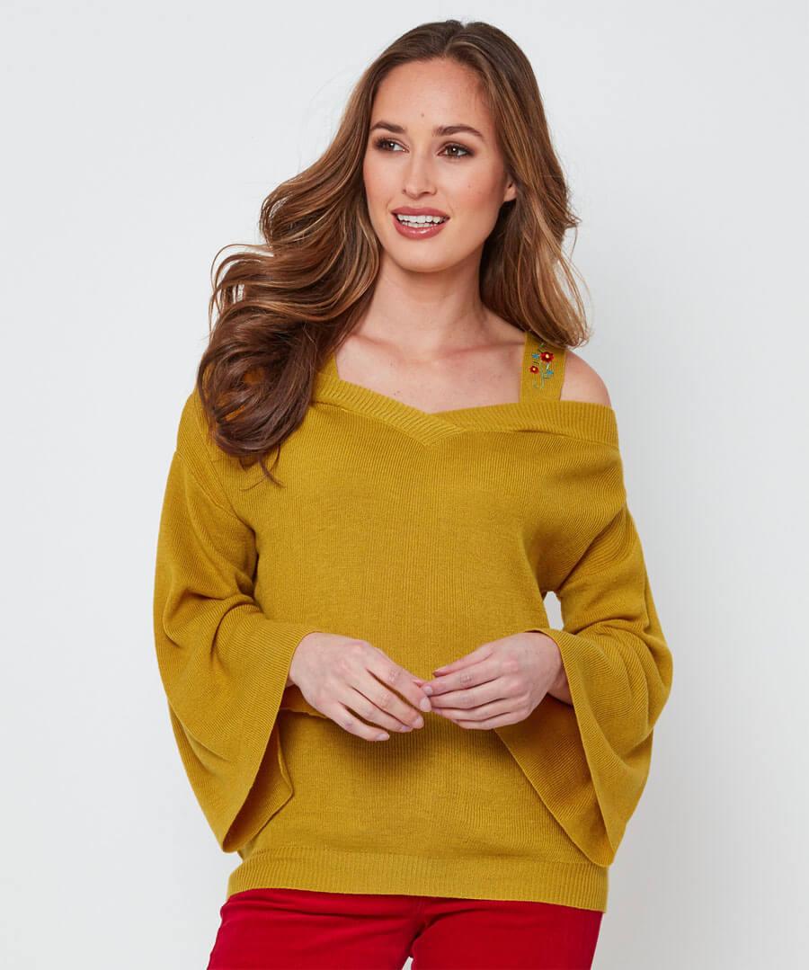 Unique Strappy Knit