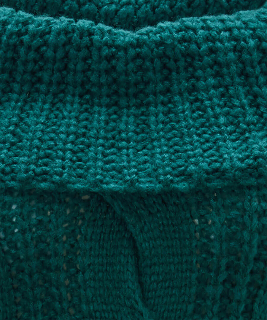 Chunky Knit Jumper Back