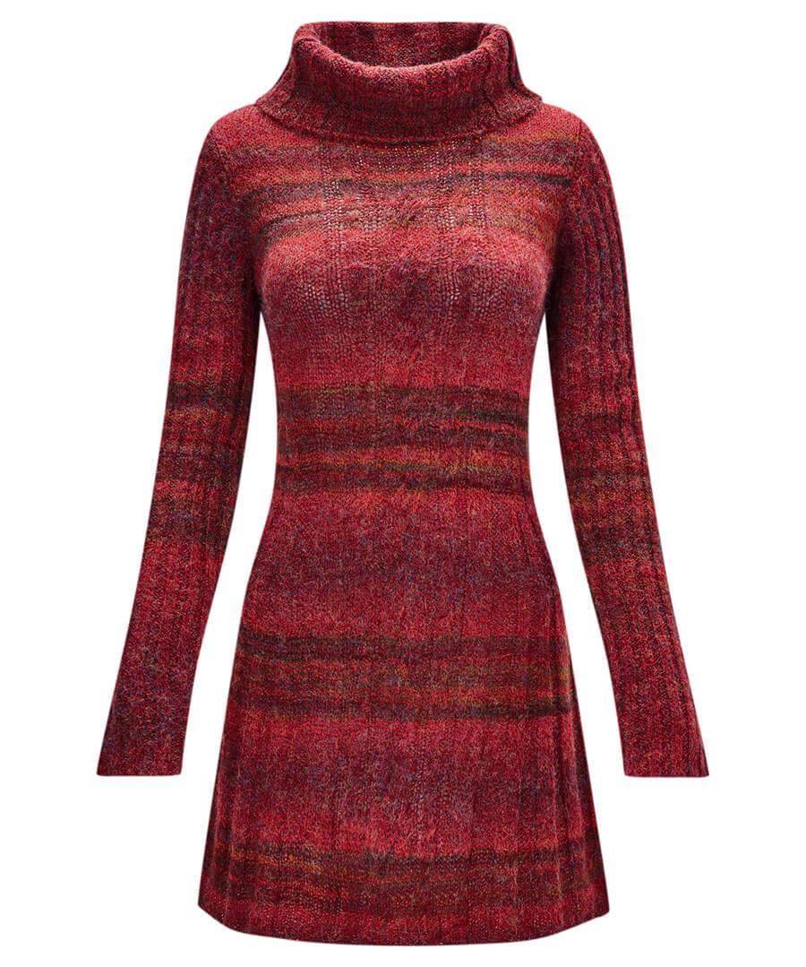 Cosy Longline Knit Model Front