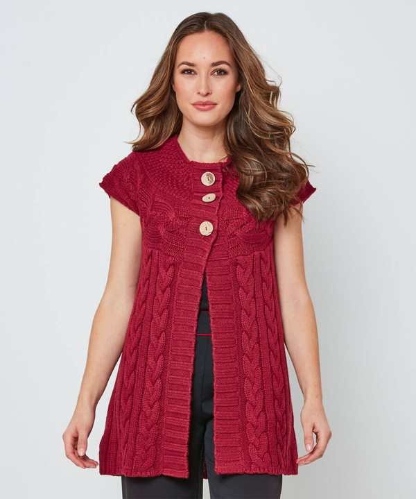 Curious Cable Cardigan