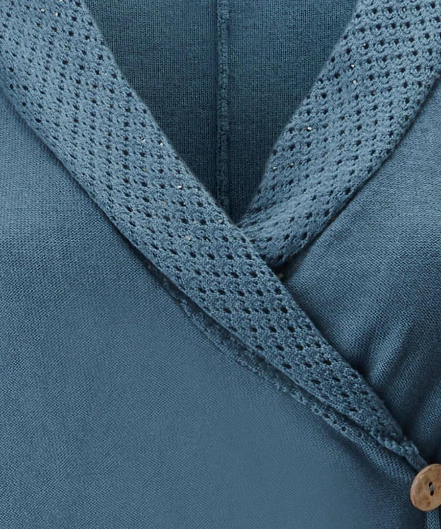 Pointelle Wrap Knit