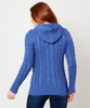 Cosy Cable Knit Hood