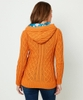 Funky Cable Knit Hood