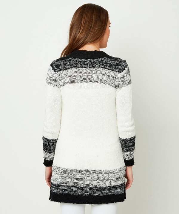 Throw On Knit