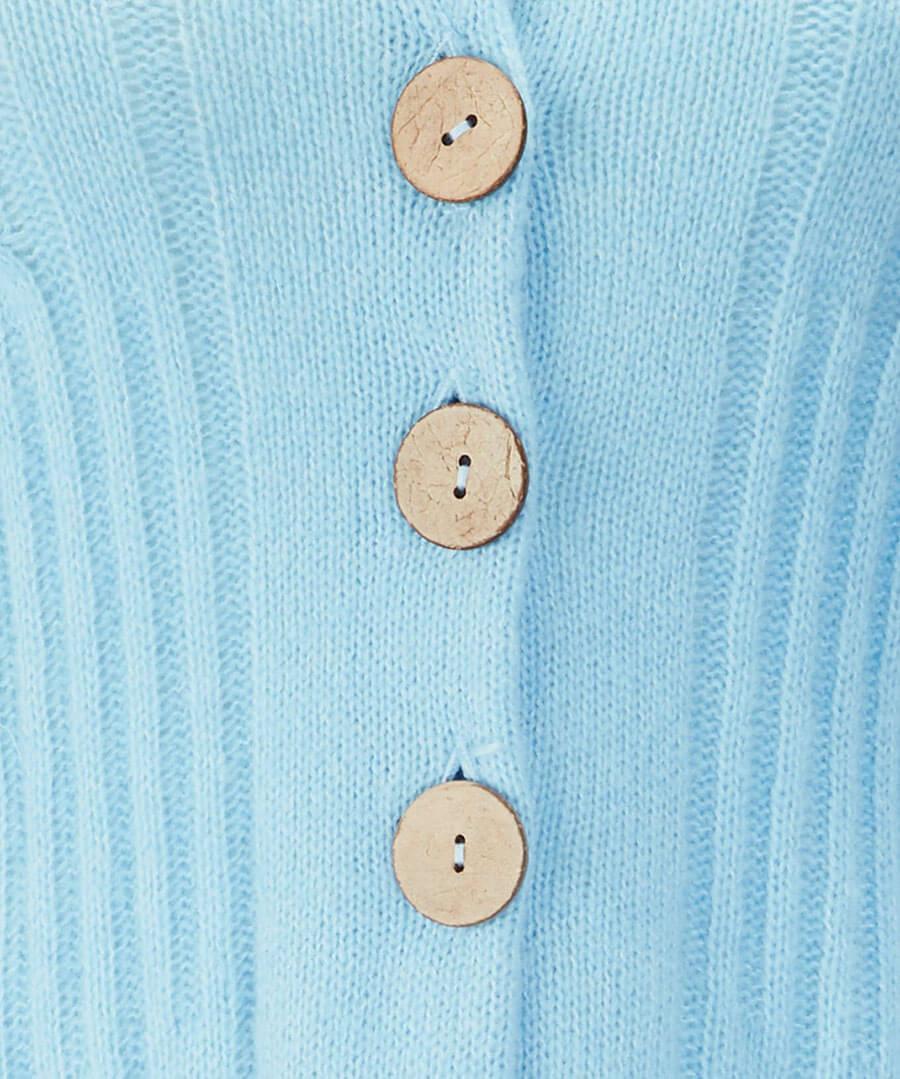 Unique Knit Cardigan Back