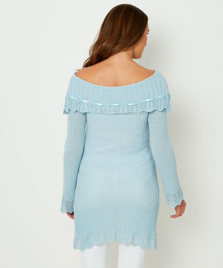 Summer Knit Model Back