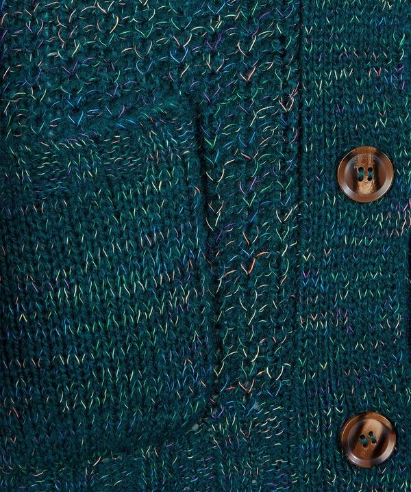 Pops Of Colour Longline Cardigan