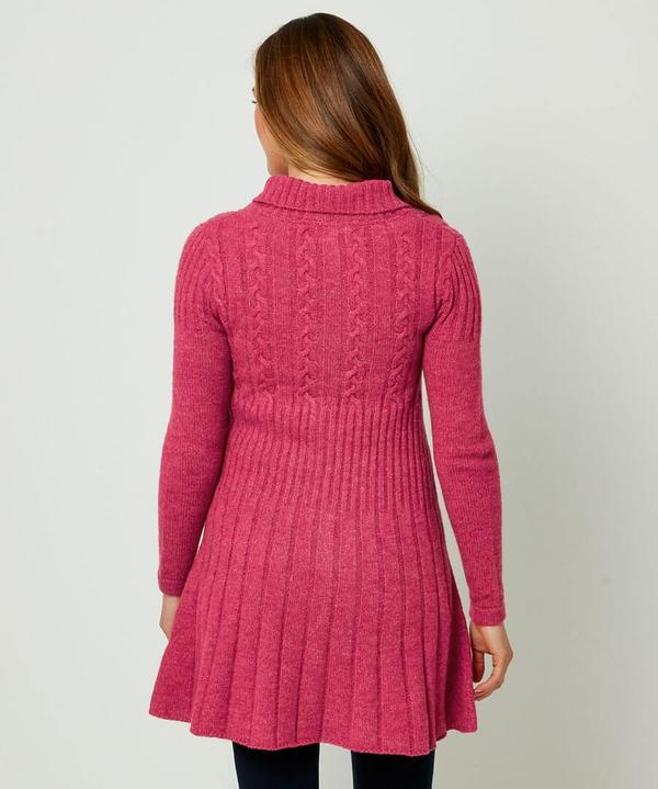Coconut Button Knit