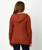 Cable Knit Hooded Knit