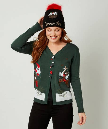 Charismatic Christmas Cardigan