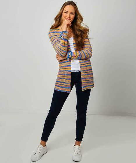 Colourful Stripey Cardigan