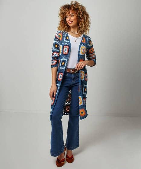 Crochet Longline Knit