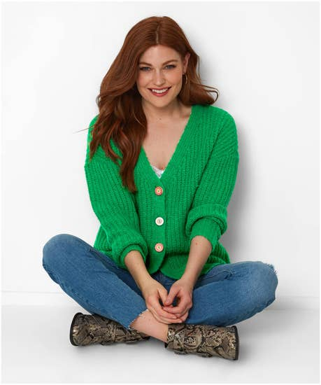 Cool Cosy Knit Cardigan