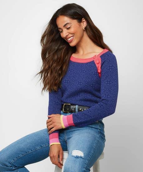 A Splash Of Colour Sweater