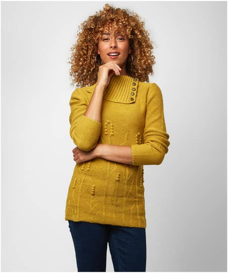 Warming Autumn Knitted Sweater