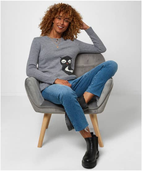 Wonderfully Wise Owl Sweater