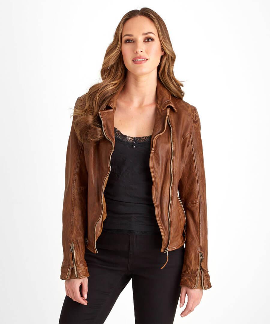 Joe's Signature Leather Jacket