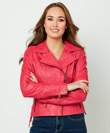 Joes Funky Leather Jacket