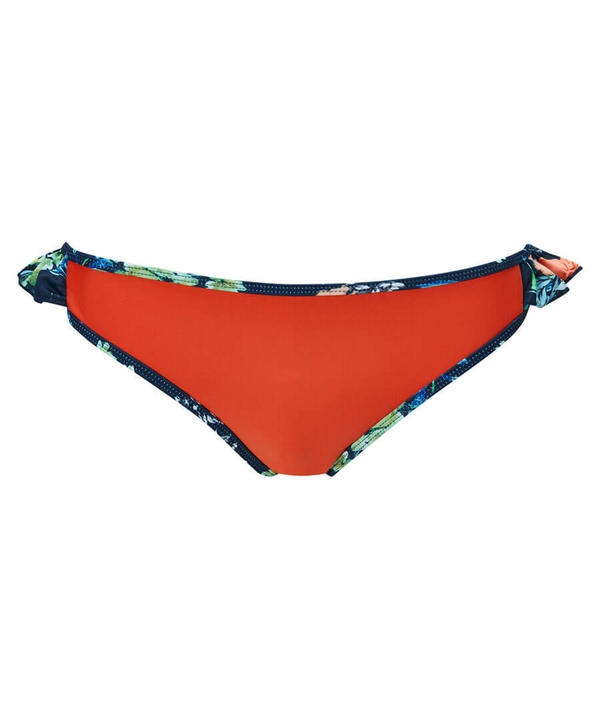 Frill Floral Bikini Bottoms