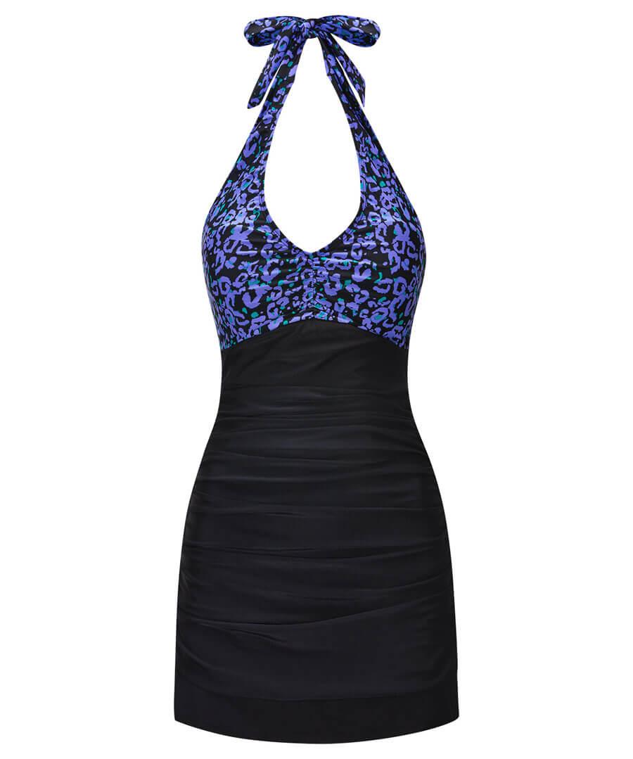 Animal Swim Dress Model Front