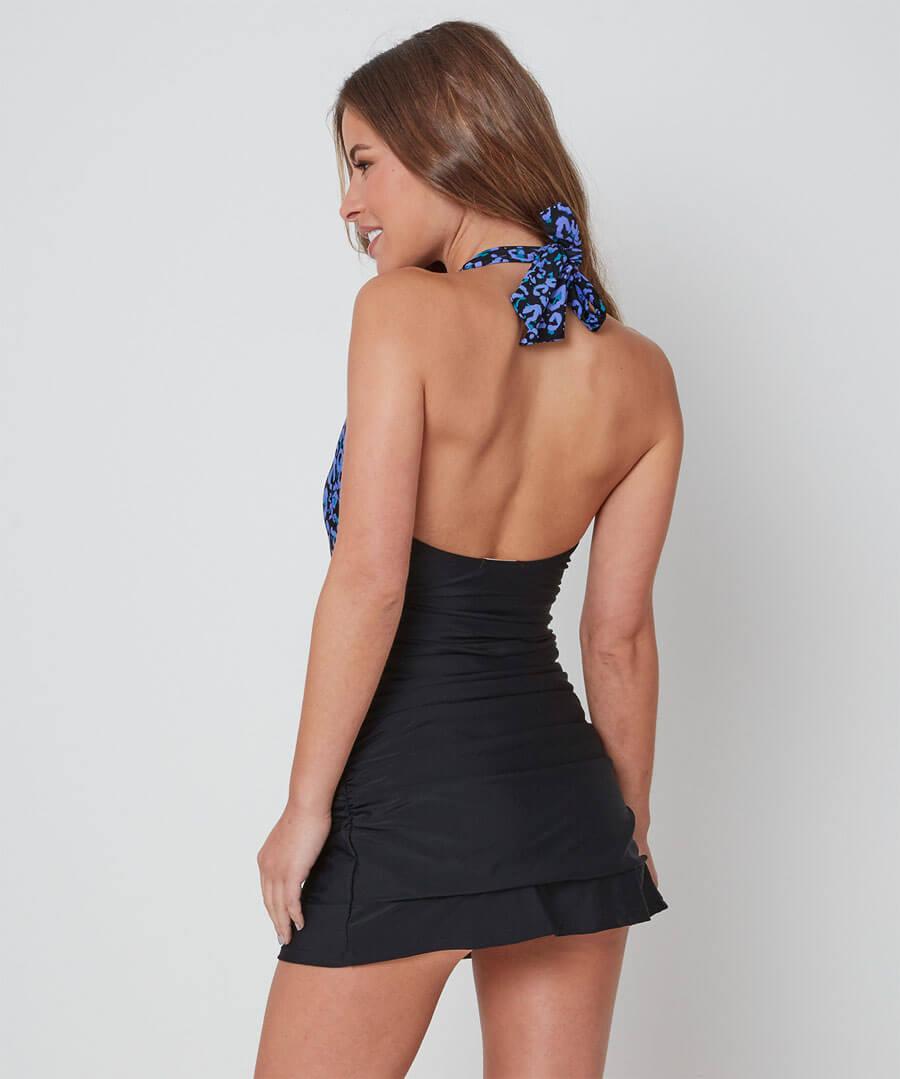 Animal Swim Dress Model Back