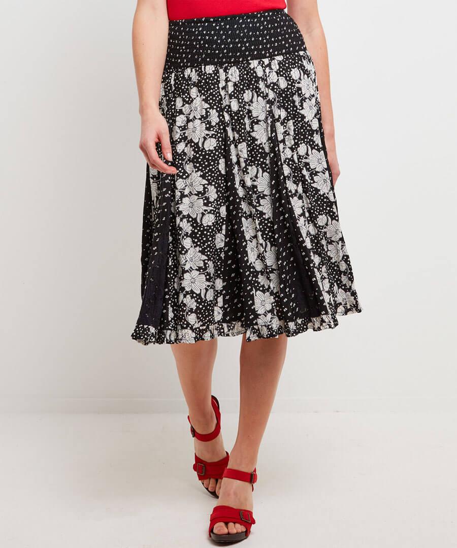 Gorgeous Godet Skirt Model Front