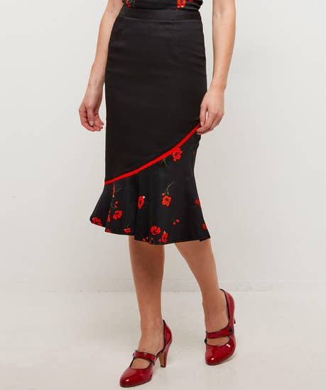 Peekaboo Poppy Skirt