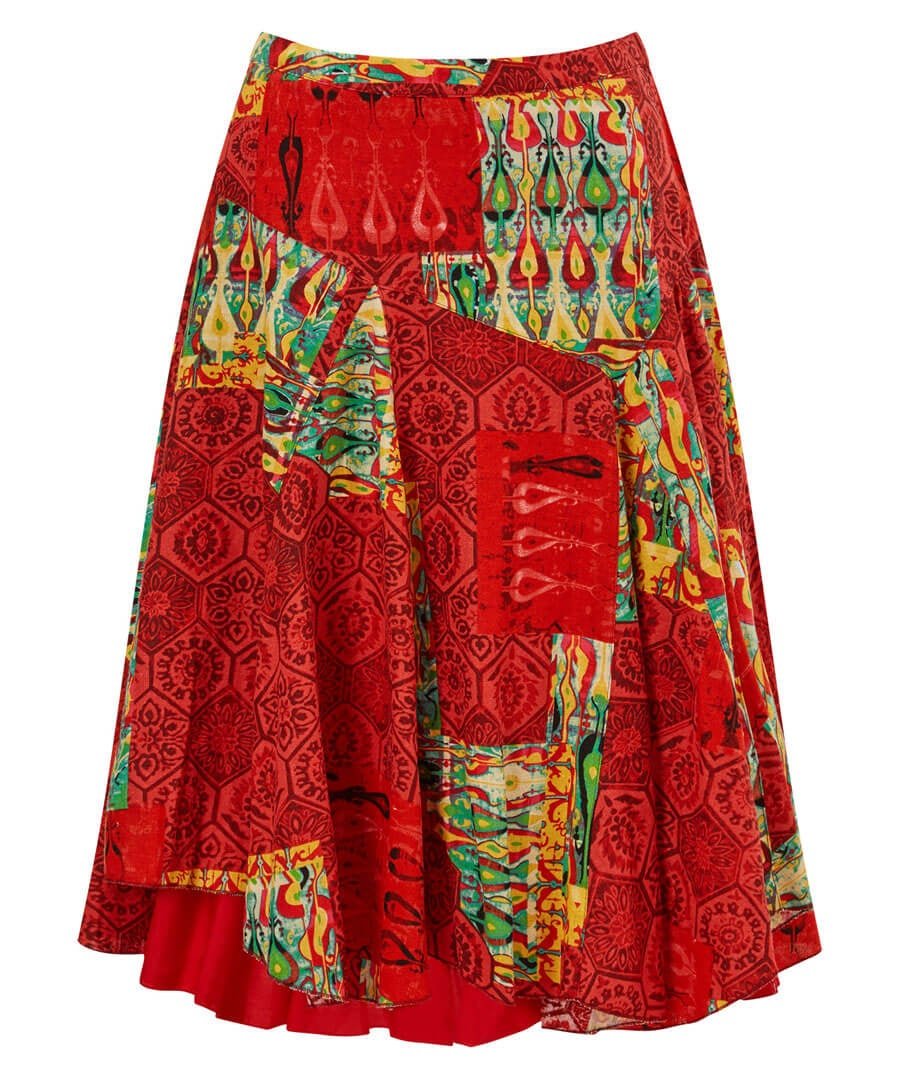 Mexicana Skirt Model Front