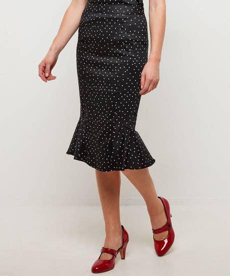 Pure And Simple Polka Skirt