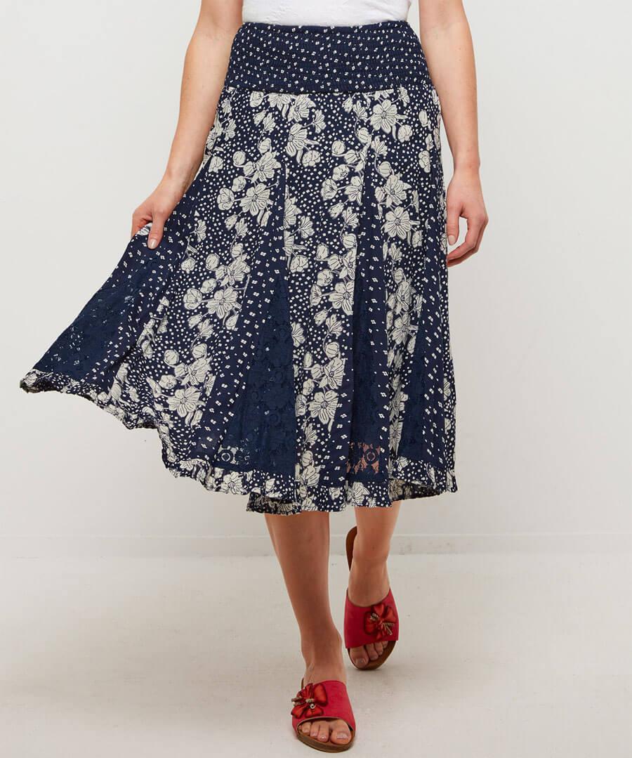 Glamorous Godet Skirt