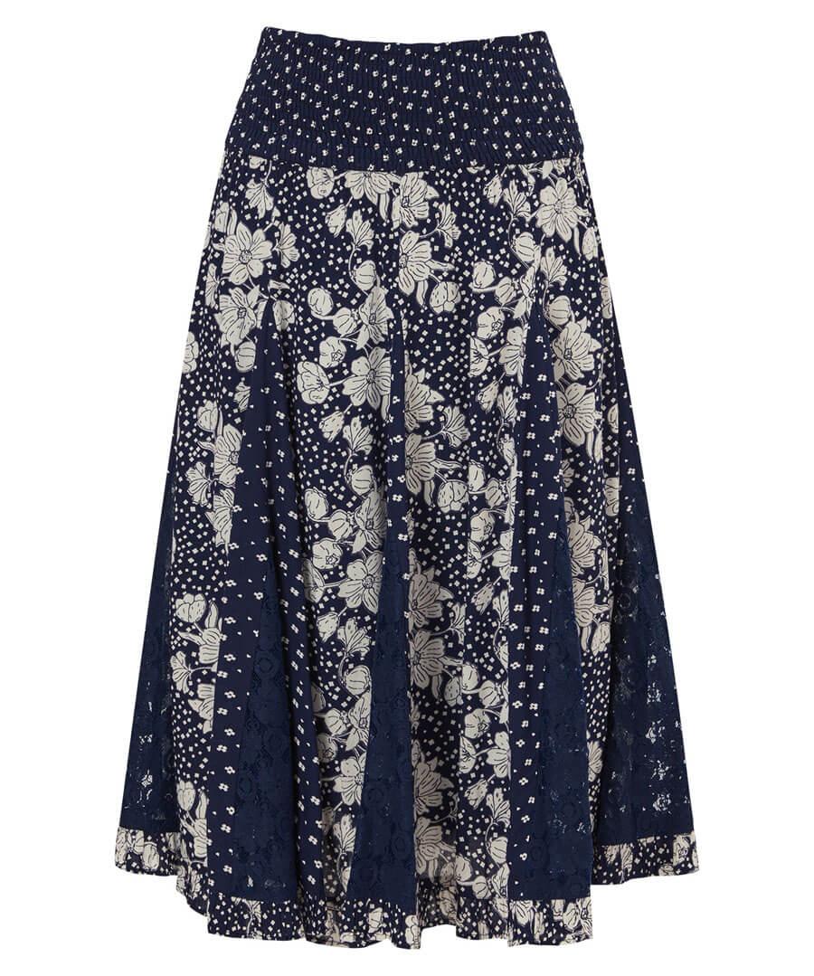 Glamorous Godet Skirt Model Front