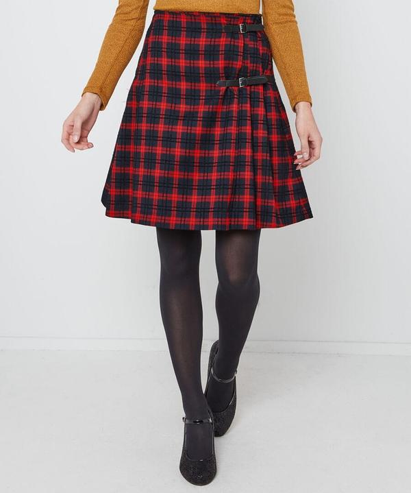 Funky Punk Check Skirt